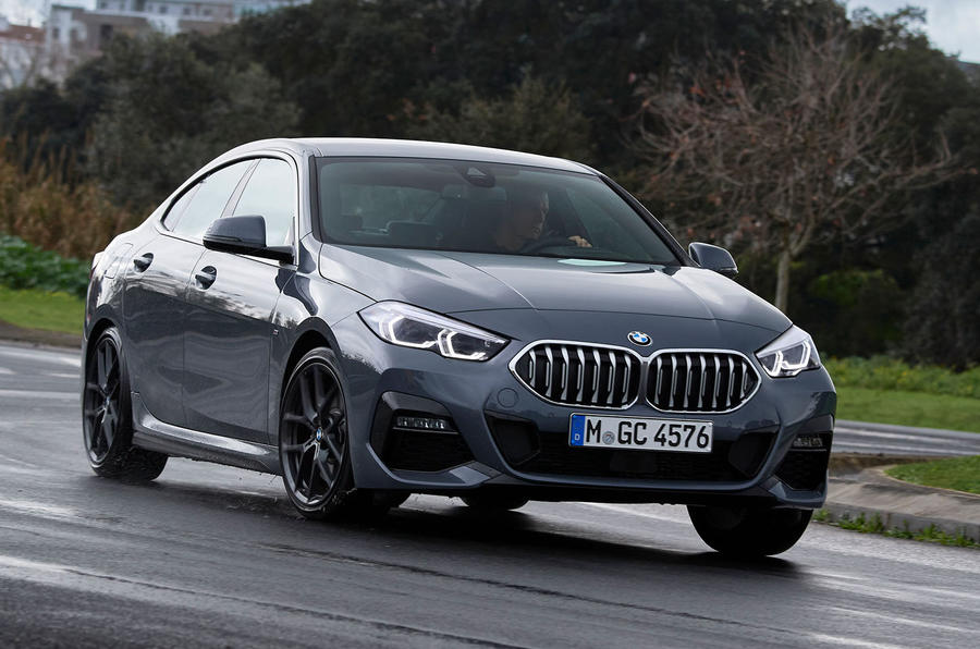 BMW 2 Series Gran Coupe 220d 2020 first drive review - cornering front