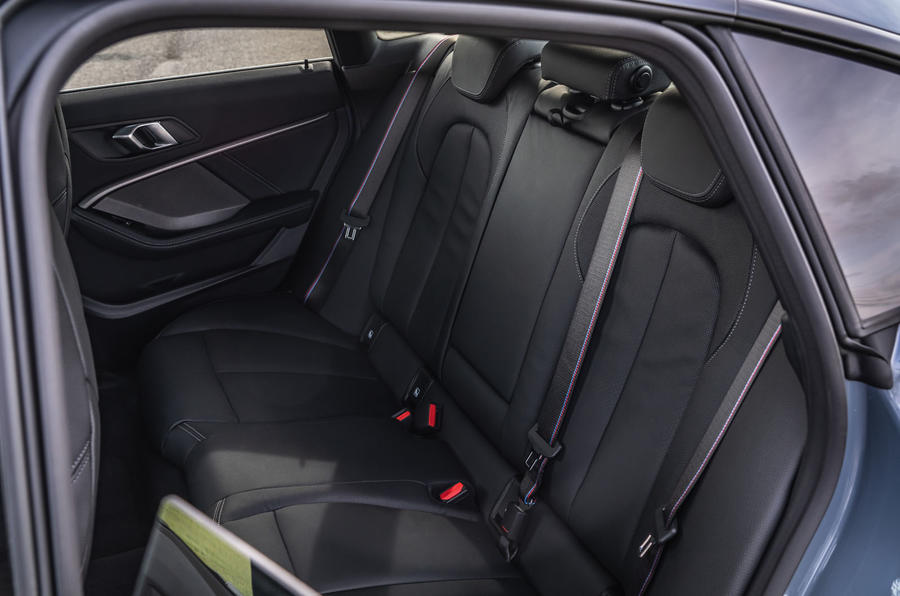 BMW 2 Series Gran Coupe M235i 2020 UK first drive review - rear seats