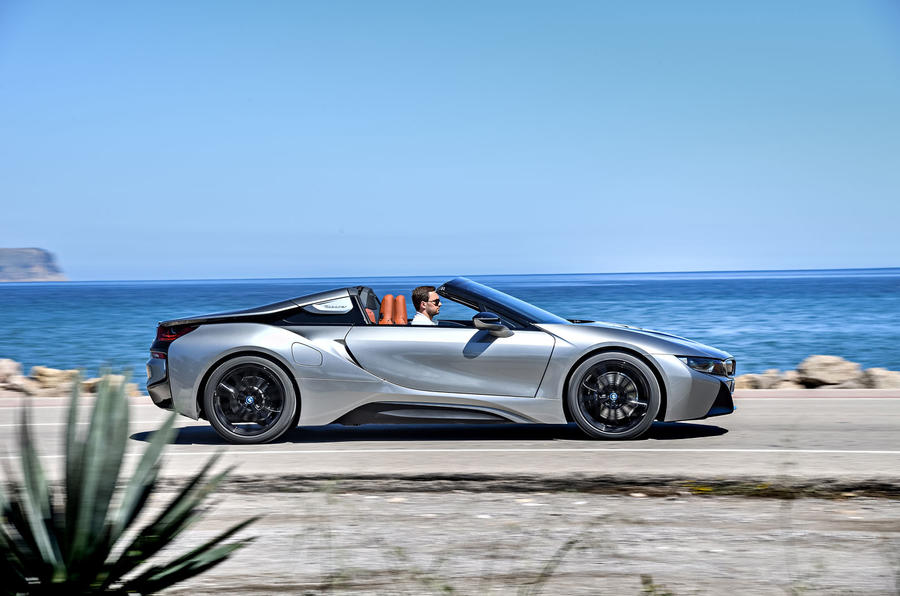 BMW i8 Roadster 2018 first drive review on the road right