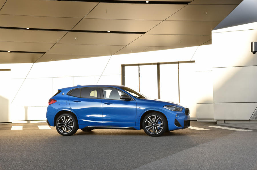 BMW X2 M35i 2019 first drive review - static side