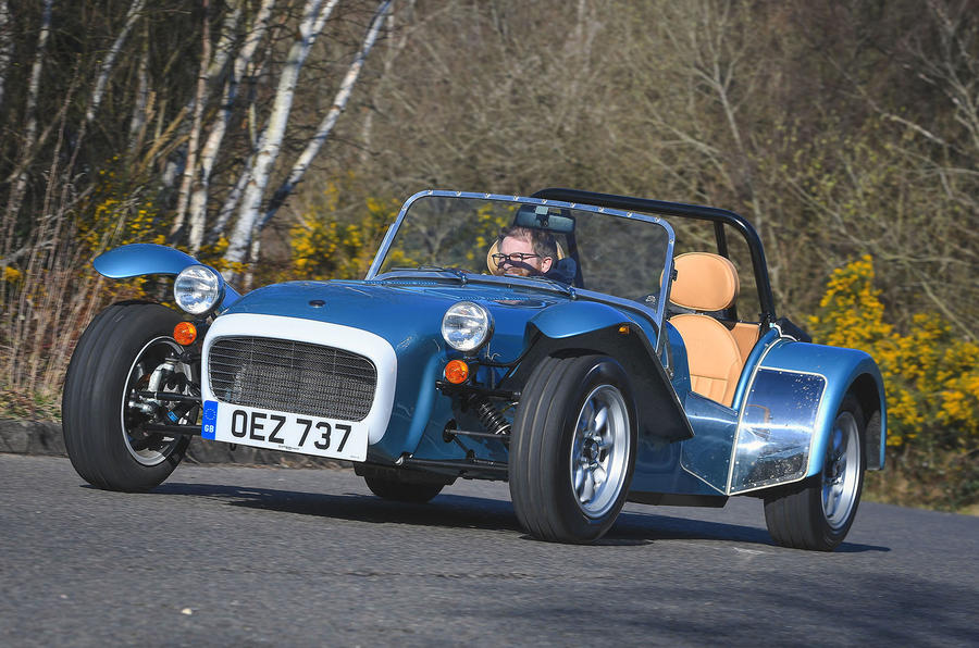 Caterham Super Seven 1600 2020 UK first drive review - on the road front