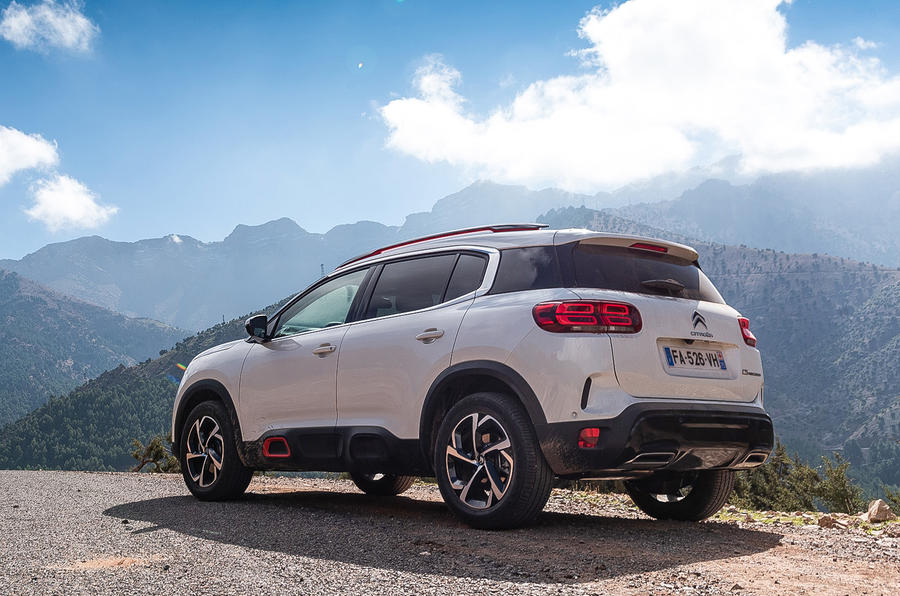 Citroen C5 Aircross 2018 first drive review - static rear