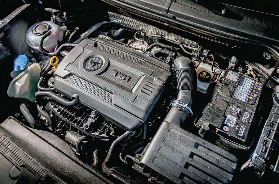 Cupra Ateca 2018 first drive review - engine