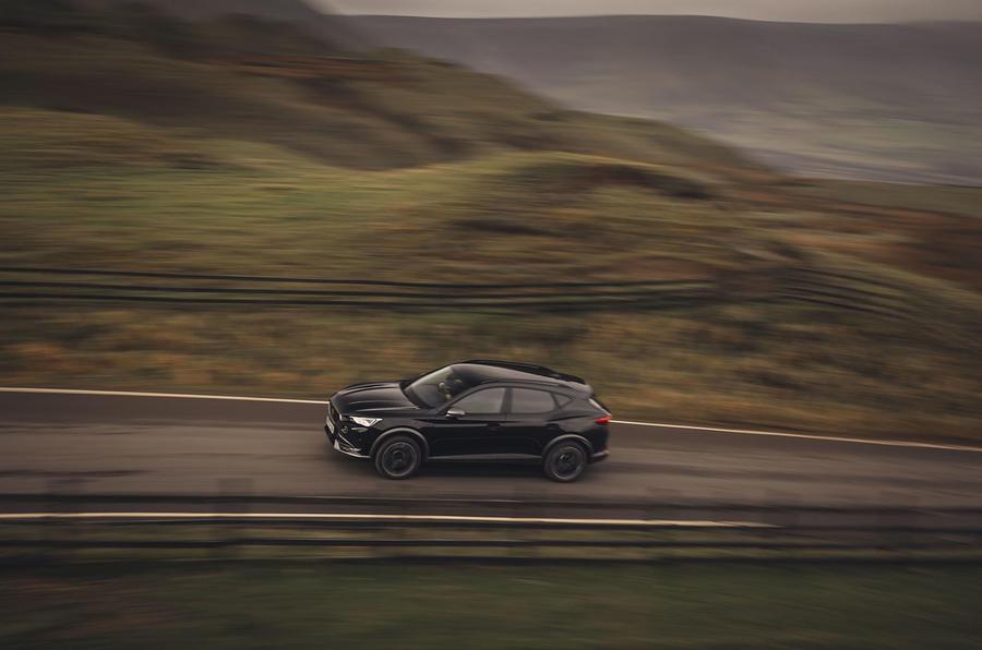 17 Cupra Formentor VZ2 2021 : le Royaume-Uni se lance dans le roadpanning