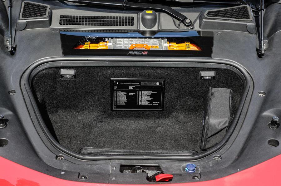 Ferrari SF90 Stradale 2020 first drive review - frunk
