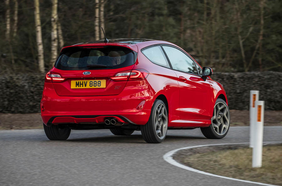 Ford Fiesta ST 2018 review handling rear