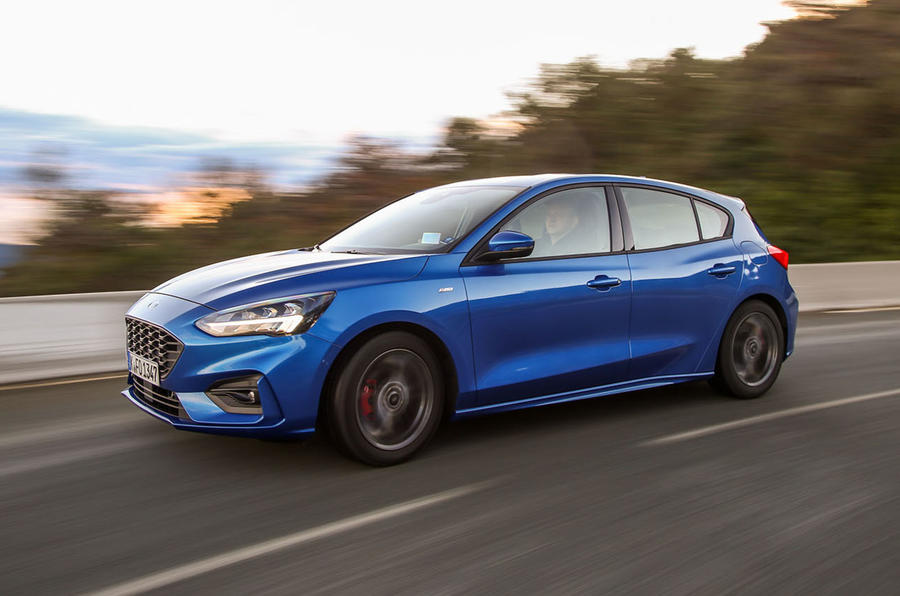 Ford Focus 2018 first drive review on the road front