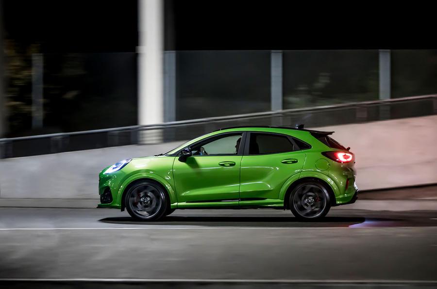 Ford Puma ST 2020 : premier bilan de conduite au Royaume-Uni - sur la route