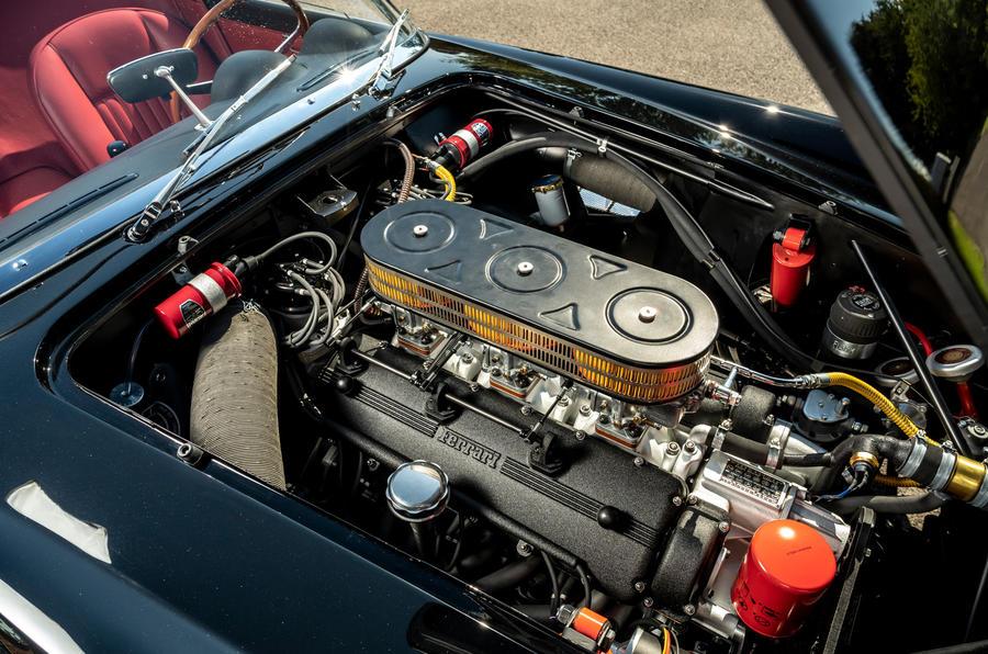 17 GTO California Spyder revival 2021 UE FD moteur