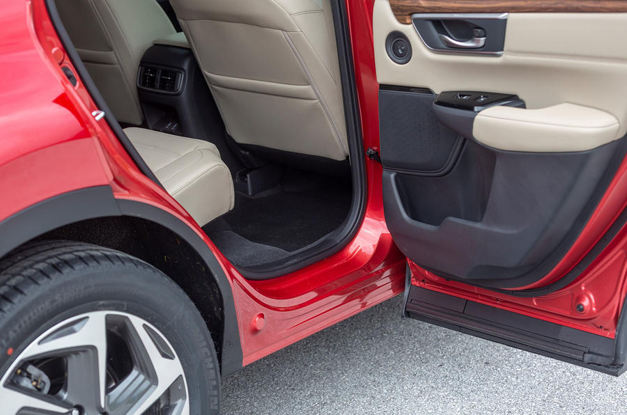 Honda CR-V 2018 first drive review rear door