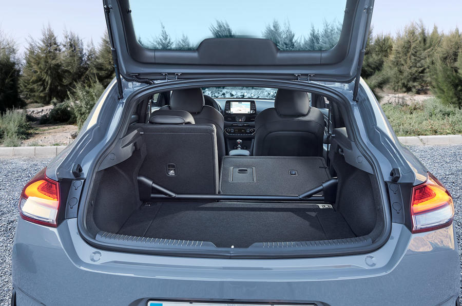 Hyundai i30 Fastback N 2019 first drive review - boot space