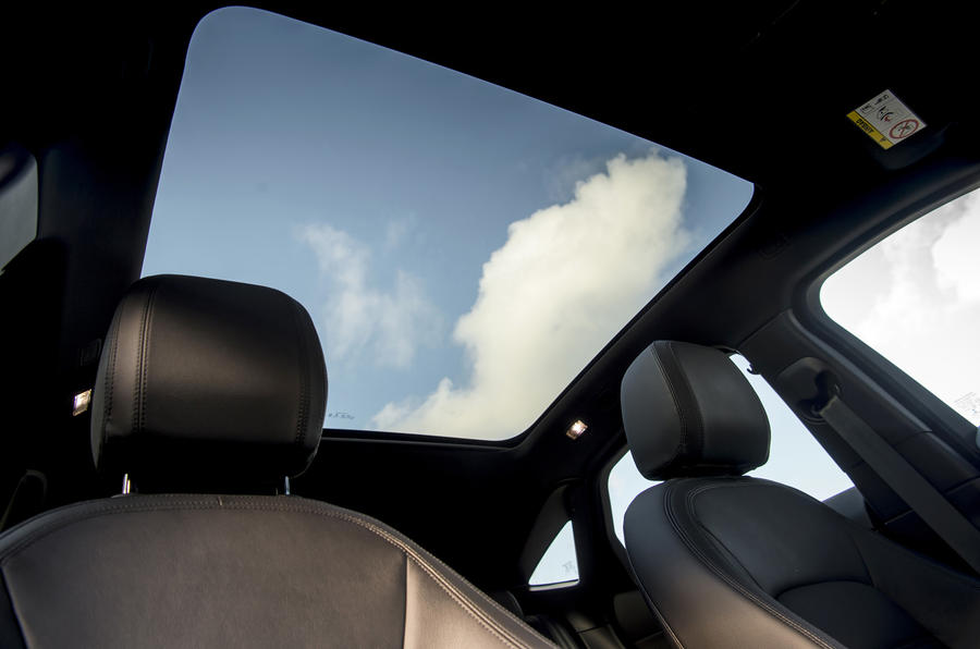 Jaguar E-Pace D150 2018 review sunroof