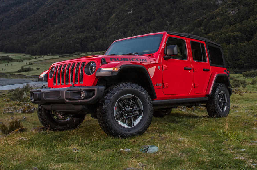 Jeep Wrangler (JL) Unlimited Rubicon 2018 review static front