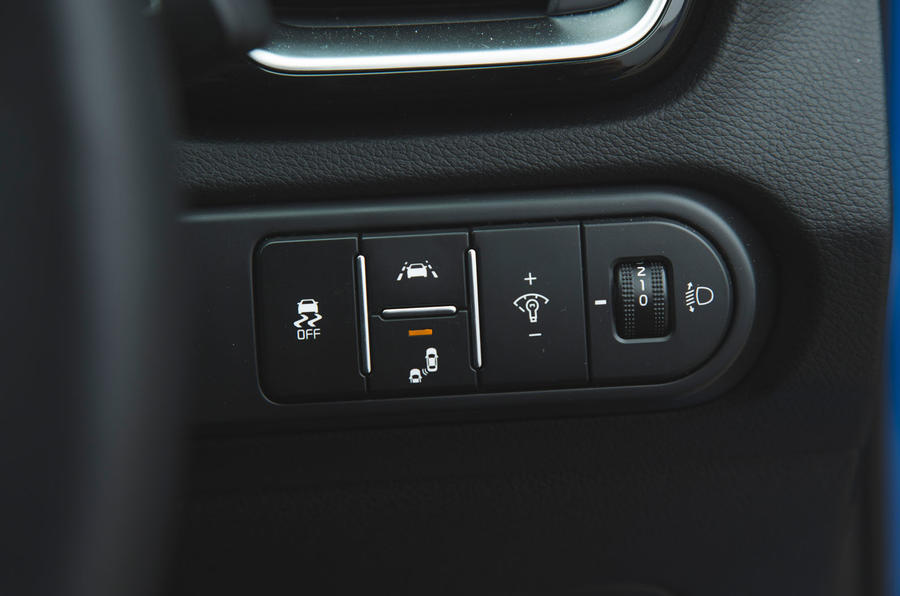 Kia Ceed 2018 long-term review - lane keep assist controls