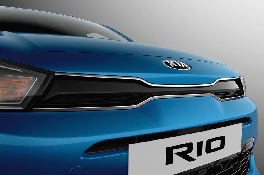 Kia Rio 2020 - static front