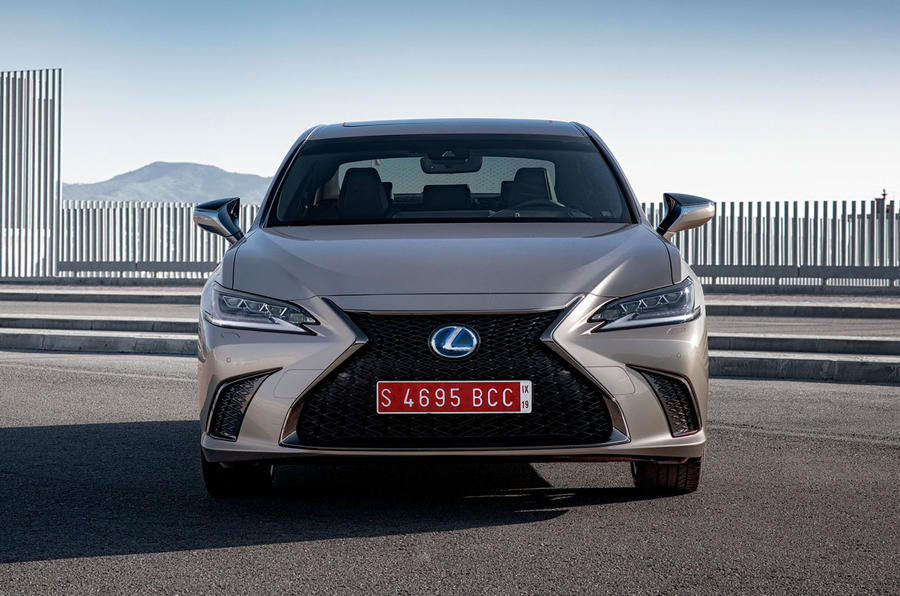 Lexus ES 2019 first drive review - static nose
