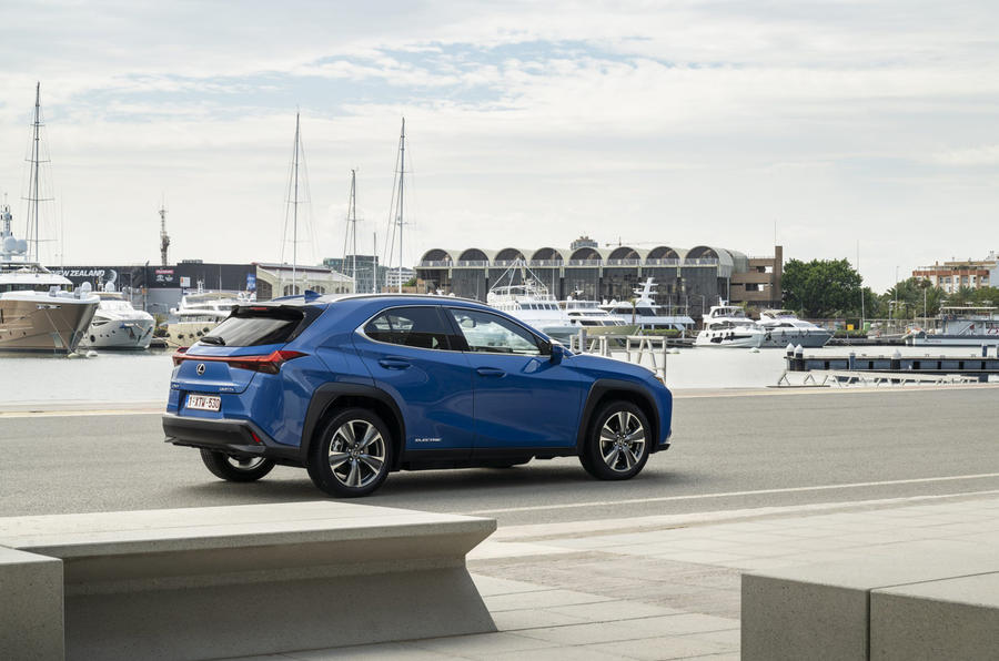 Lexus UX300e 2020 UK first drive review - static