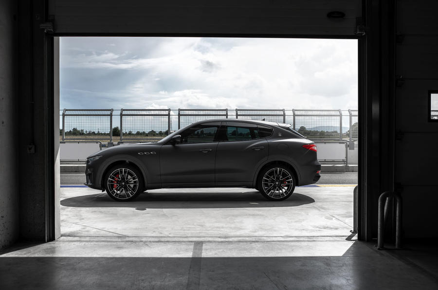 Maserati Levante Trofeo 2019 first drive review - static side
