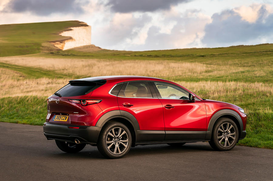 Mazda CX-30 2019 UK first drive review - static rear