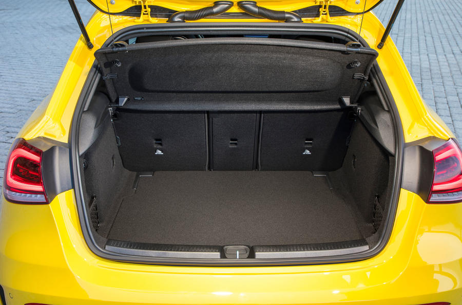 Mercedes-AMG A35 2018 first drive review - boot space