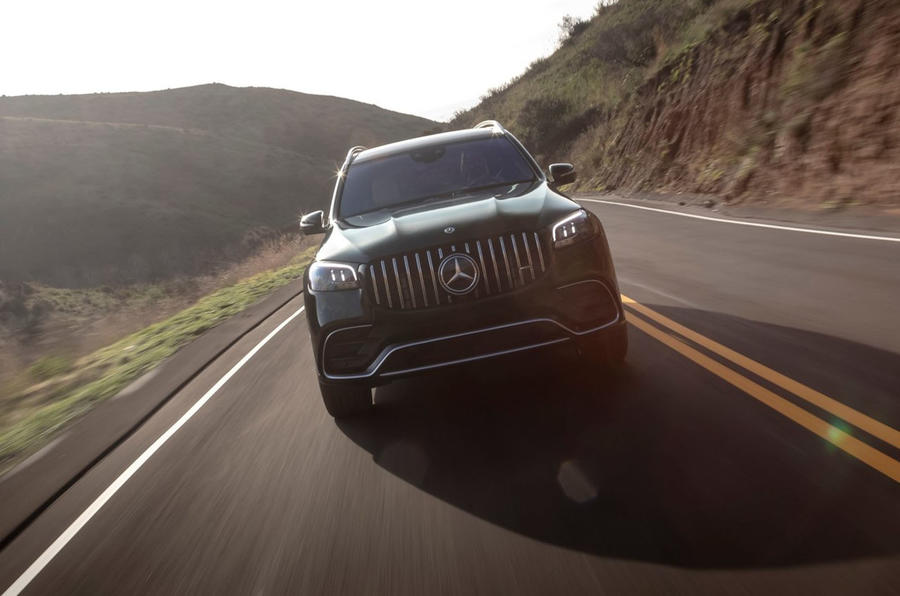 Mercedes-AMG GLS 63 2020 first drive review - on the road nose