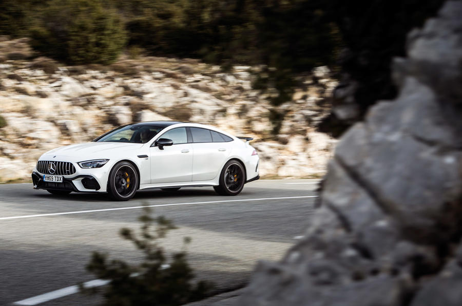 Mercedes-AMG GT 63 S Coupe - tracking side