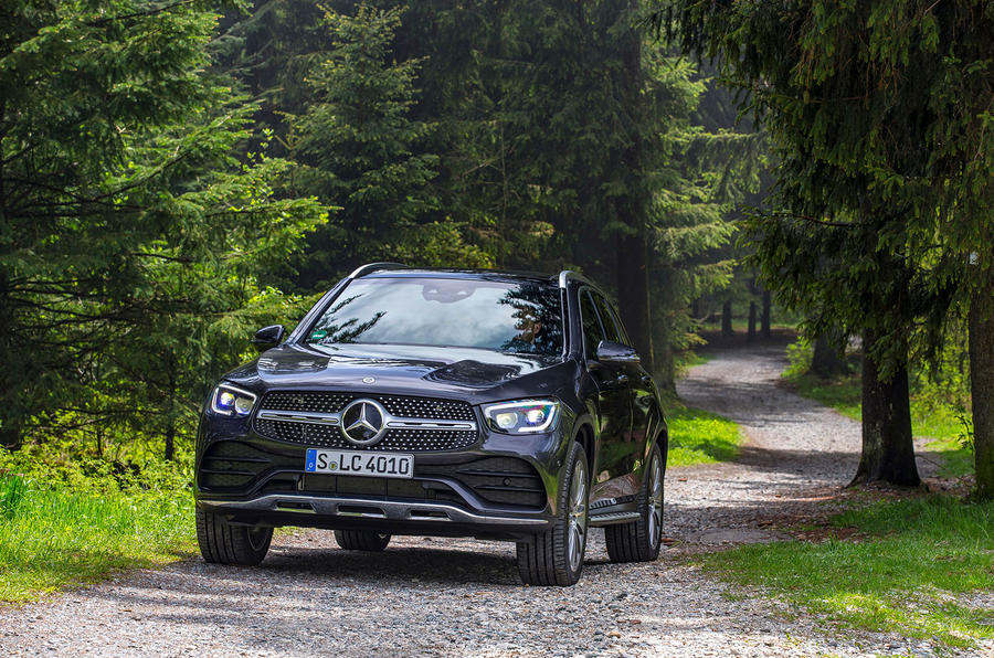 Mercedes-Benz GLC 300d 2019 first drive review - static front