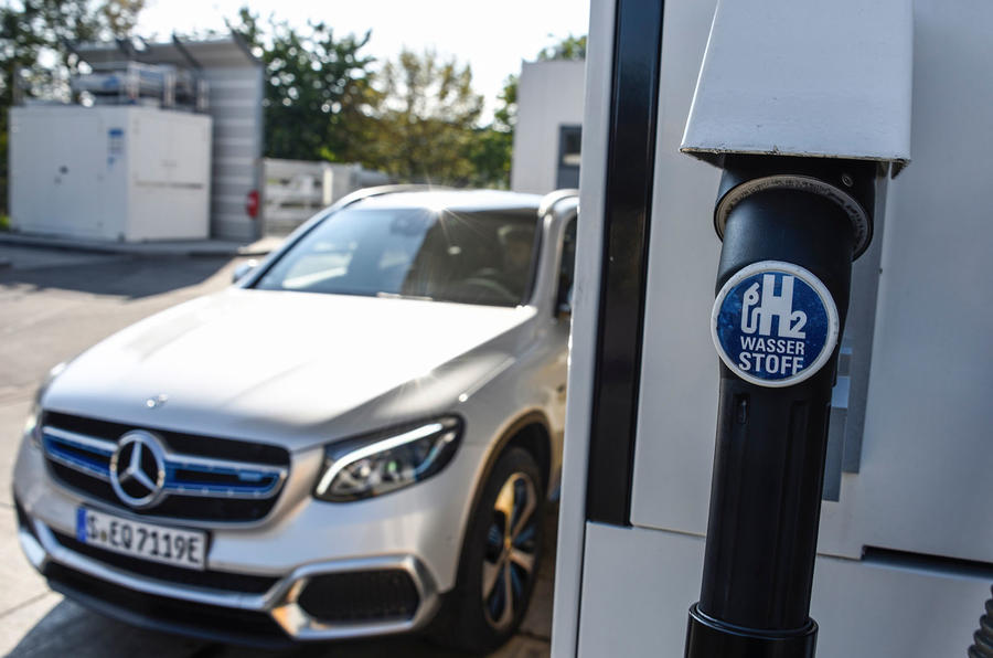 Mercedes-Benz GLC F-Cell 2018 first drive review - hydrogen pump
