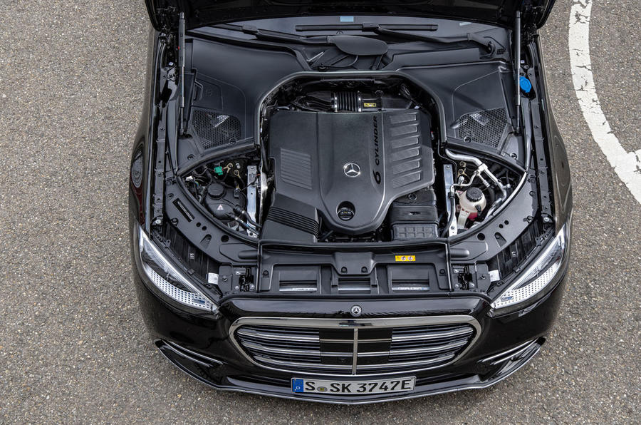 Mercedes-Benz S Class S580e 2020 first drive review - engine