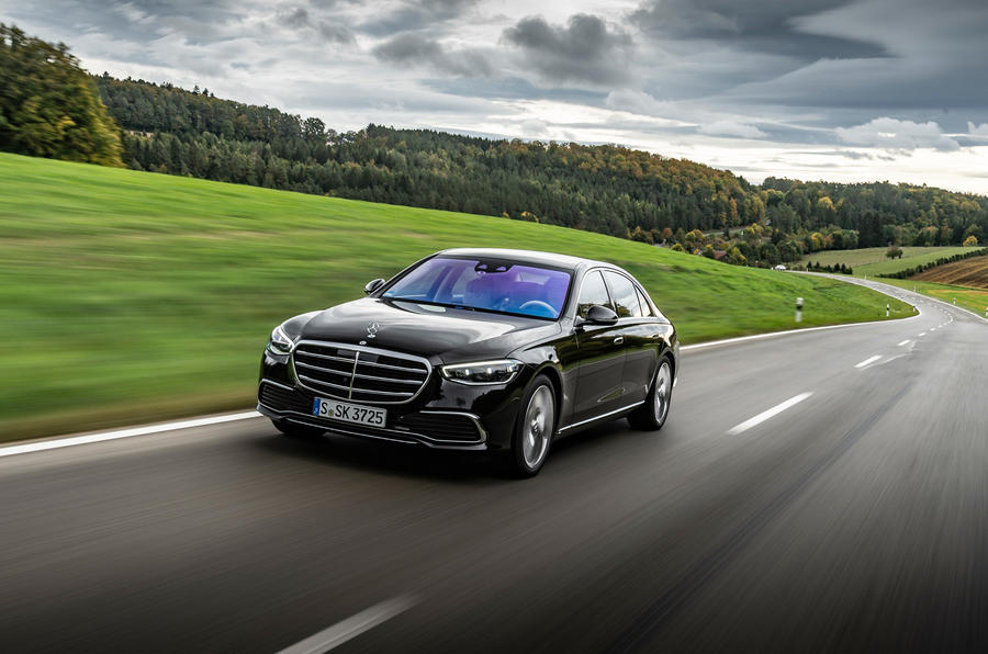 Mercedes-Benz S-Class S500 2020 first drive review - on the road front