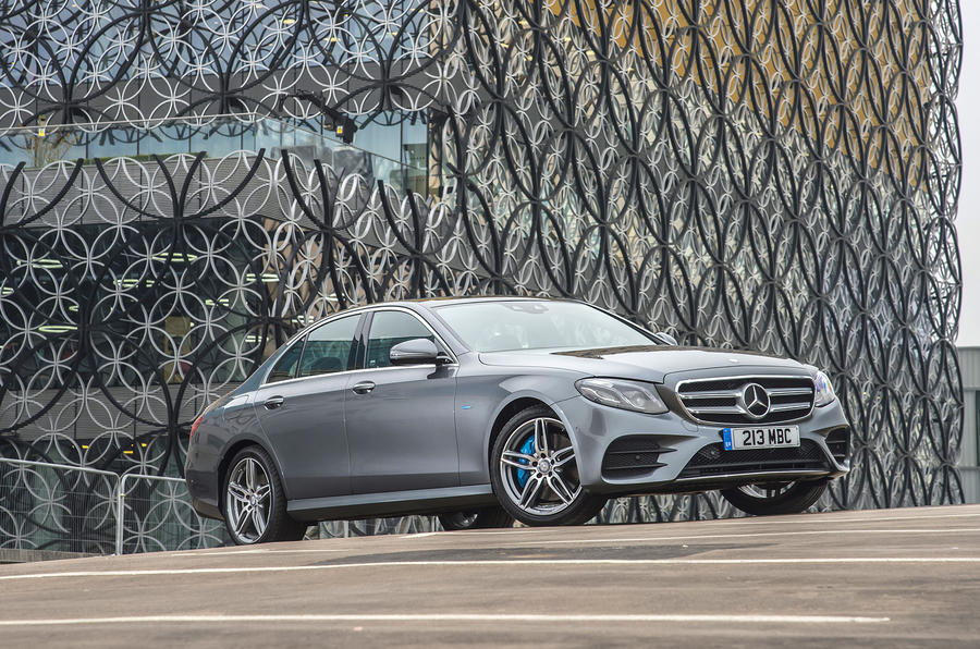 Mercedes-Benz E-Class E300de 2019 UK first drive review - static front