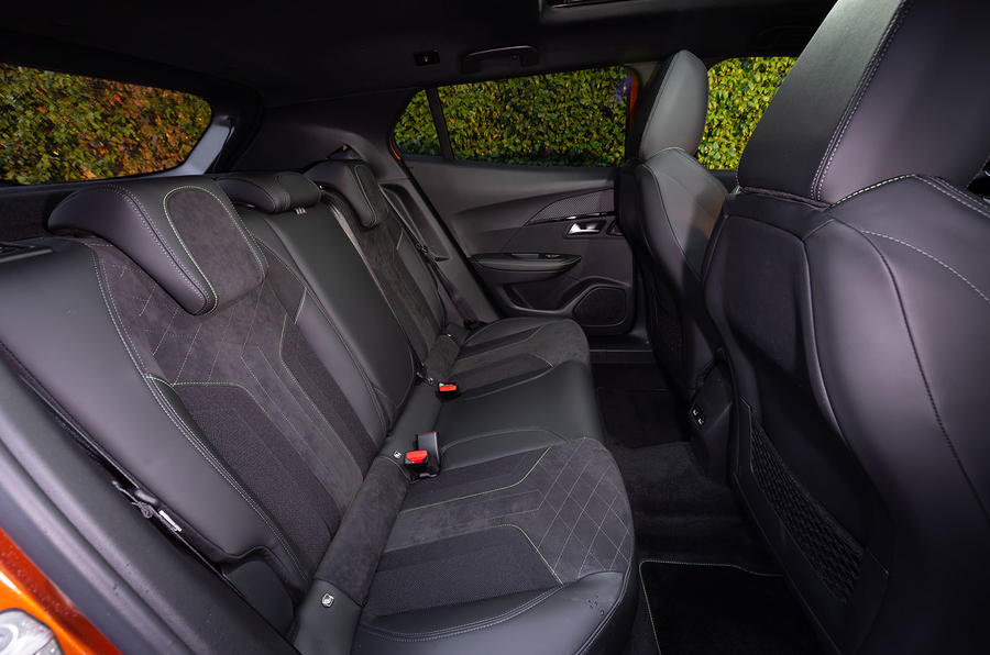 Peugeot 2008 2020 first drive review - rear seats