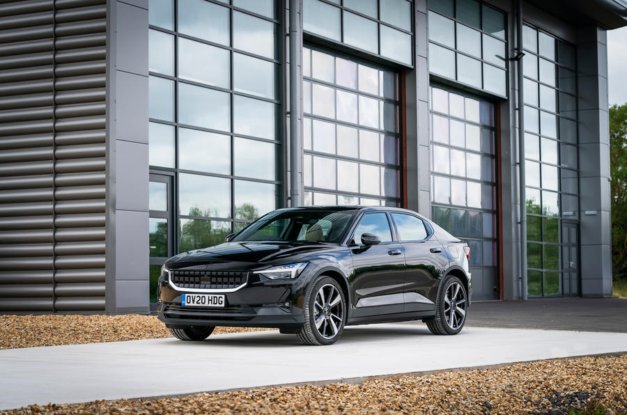 Polestar 2 2020 UK first drive review - static