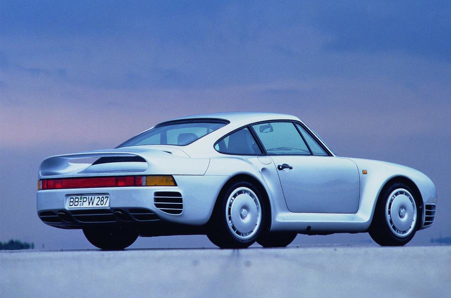 Porsche 959 - side