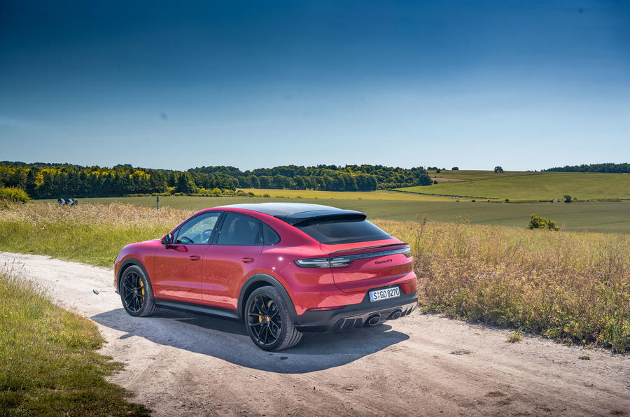 Porsche Cayenne GTS 2020 UK first drive review - static rear