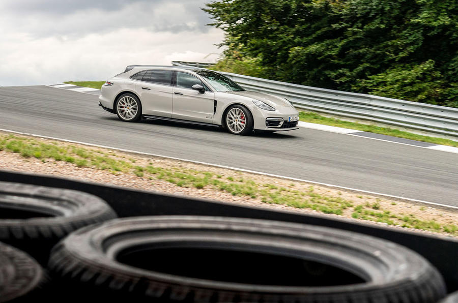 Porsche Panamera GTS Sport Turismo 2020 first drive review - track side