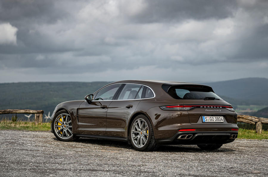 Porsche Panamera Turbo S Sport Turismo 2020 first drive review - static rear