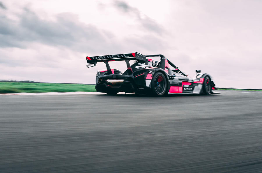 Radical SR10 2020 UK first drive review - track rear