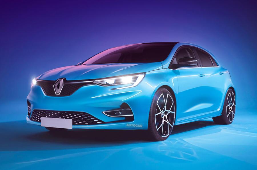 Renault Megane render