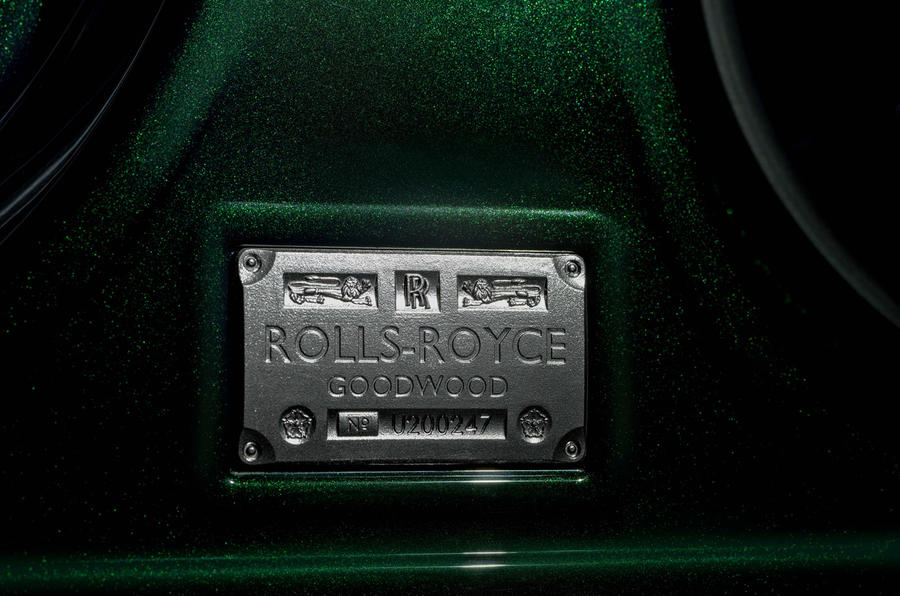 Rolls-Royce Ghost Extended - detail