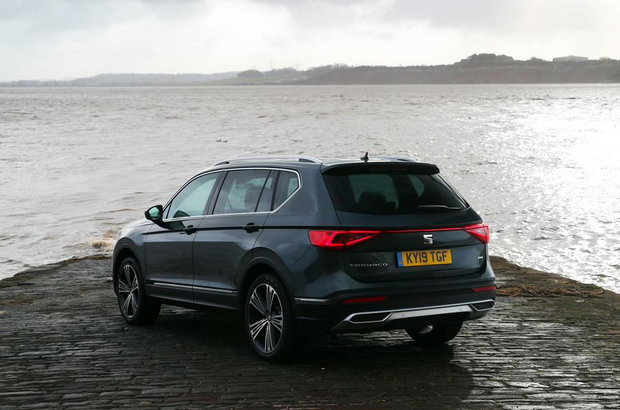 Seat Tarraco 2019 UK first drive review - static rear