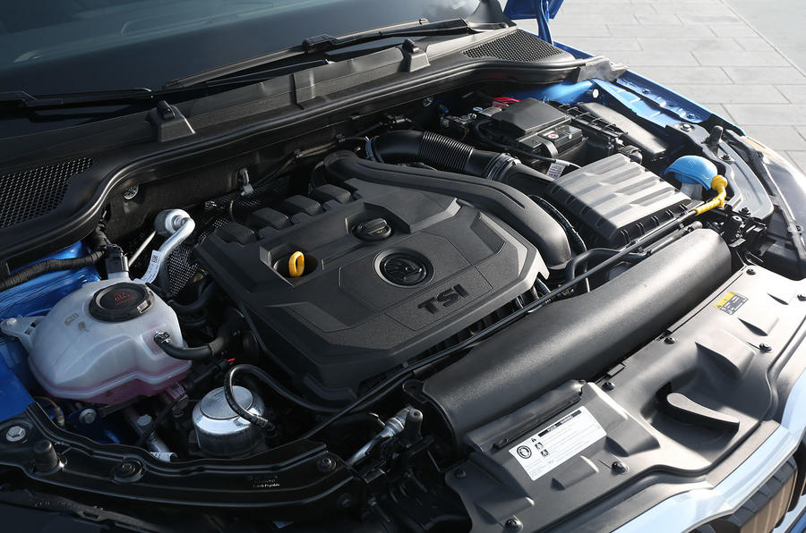 Skoda Scala 2019 first drive review - engine