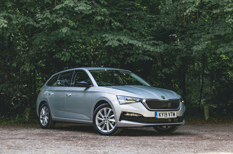 Skoda Scala 1.5 TSI SE 2019 UK first drive review - static