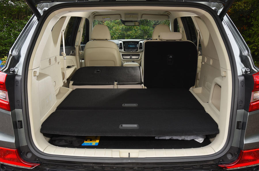 Ssangyong Rexton longterm review boot space