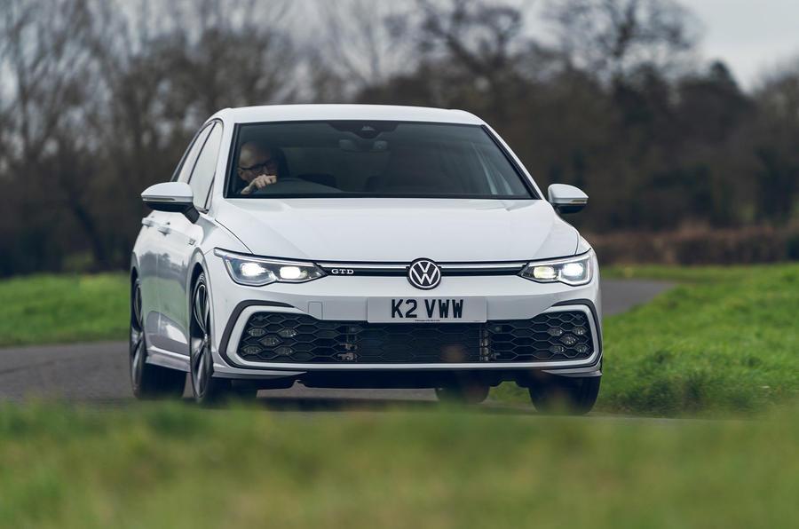 17 Volkswagen Golf GTD 2021 : le premier examen de conduite au Royaume-Uni