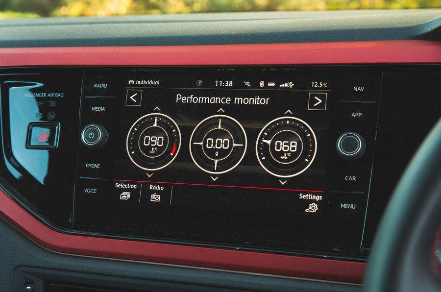 Volkswagen Polo GTI 2018 long-term review - performance graph