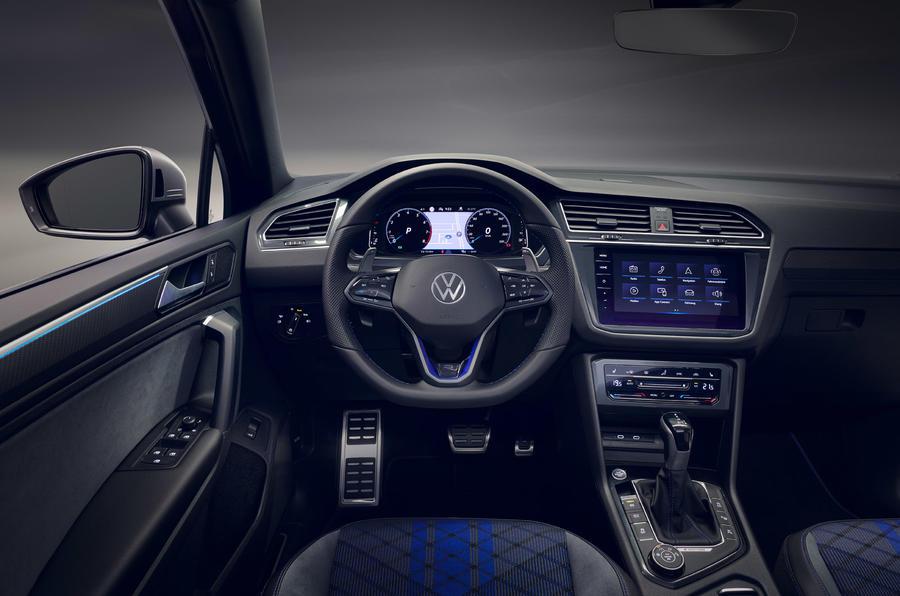 Volkswagen Tiguan R - interior