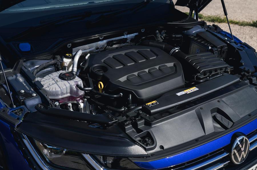 17 VW arteon R Shooting Brake 2021 UE FD moteur