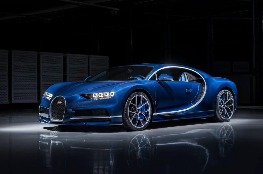 Bugatti delivers its first Chiron hypercars
