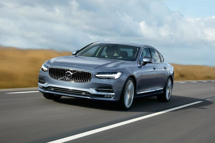 The Volvo S90, with its 2.0 D4 diesel, failed to better 40mpg